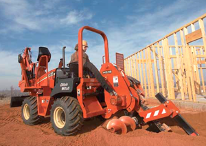 Ditch Witch Ride On Trencher RT45 - Puckett Rents