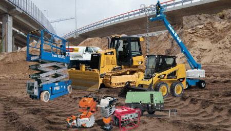 contracting equipment rental